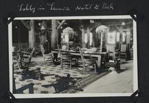 Lobby in Lewis' Hotel