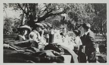 Group at Picnic Table