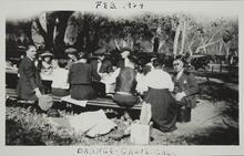 Picnic at Orange Grove, California