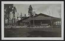 Lodge Building at Lumber Mill