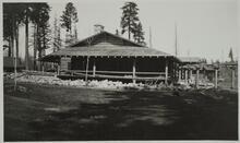 Lodge Building at Lumber Camp
