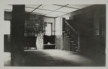 Inside Lodge Fireplace