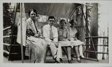 Nancy C. Russell with Friends
