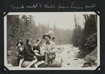 Frank Mehl and Girls from Lewis' Hotel