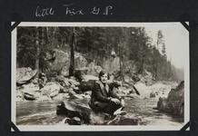 Young Woman at Glacier Park