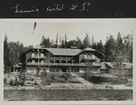 Lewis' Hotel at Glacier Park