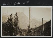 Hines's Peak, Glacier Park