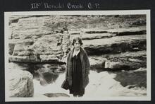 Woman at McDonald Creek