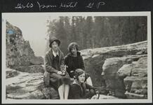 Three Women at Glacier Park