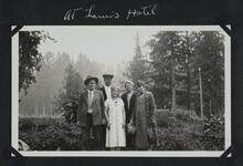 Charles M. Russell and Nancy C. Russell at Lewis Hotel
