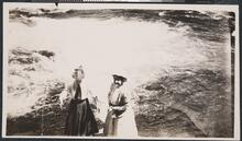 View of Two Women by Water