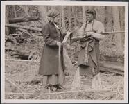 Charles M. Russell and Nancy C. Russell in Costume