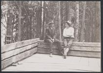 Charles M. Russell with Friend