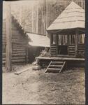 Log Gazebo at Bull Head Lodge