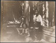 Charles M. Russell, Charles S. Russell, Austin Russell, and Isabel Russell.