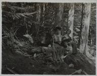 Nancy Russell and Two Unknown Women in the Woods
