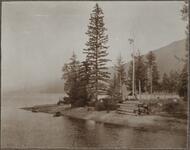 Mountain Lake Scene