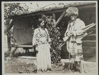 Charles M. Russell and Woman