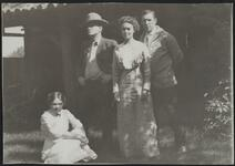 Charles M. Russell, Nancy C. Russell, and Couple
