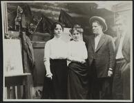 Ella Ironside, Nancy C. Russell, Charles M. Russell, and Austin C. Russell