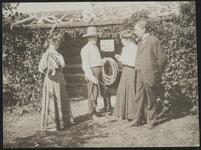 Charles M. Russell and Nancy C. Russell with Couple