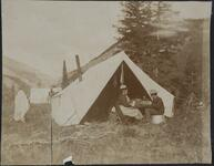 Nancy C. Russell at Camp
