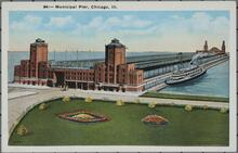 Municipal Pier in Chicago