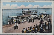Boat Landing in Lincoln Park