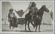 Two Indian Men with a Horse
