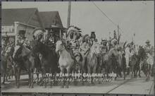 Crow Indians in War Costume