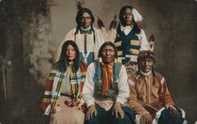 Photo of Group of Ute Indians