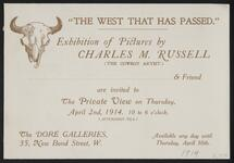 Invitation to an Exhibition