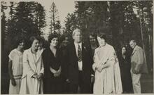 Charles M. Russell at Flathead Lake