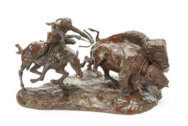 The Buffalo Hunt (0837.12)