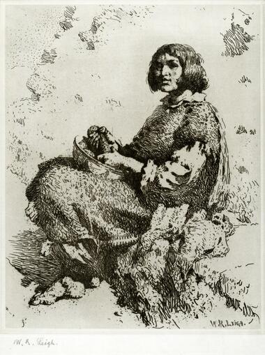 Zuni Girl (1427.134A)