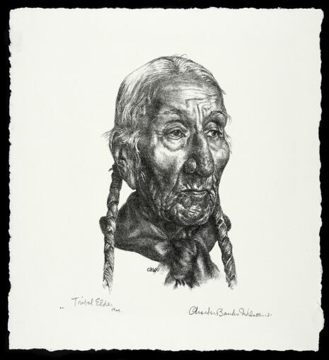 Tribal Elder Otoe (1427.672.D)